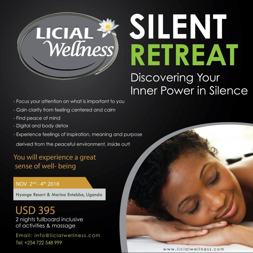 silent retreat uganda