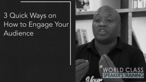 Quick ways to engage your audience