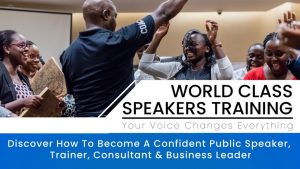 World Class Speakers – 2-Part Payment