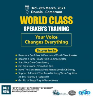 World Class Speakers' Training Cameroon